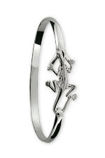 Lizard Hook Bracelet - Sterling Silver